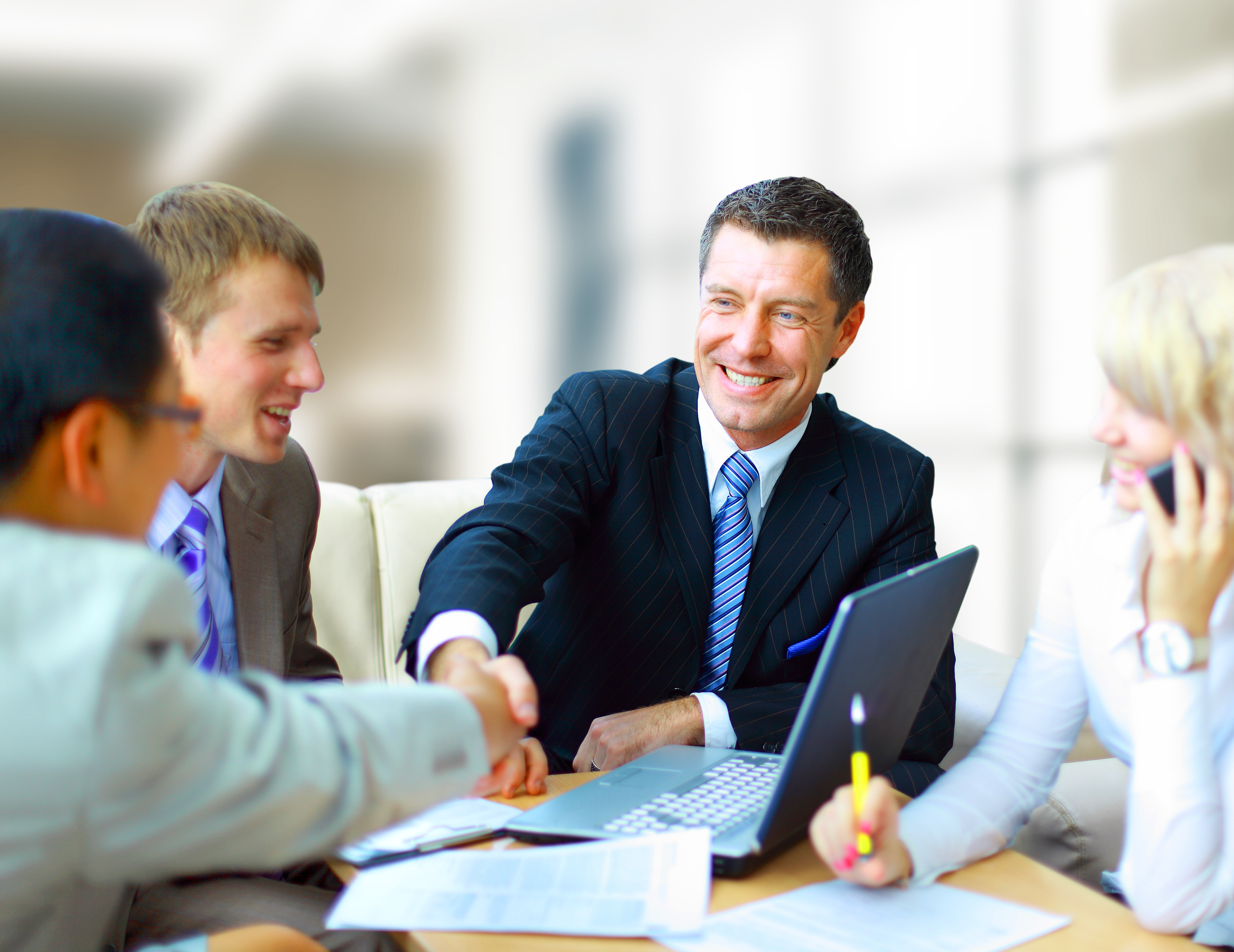 4019984 Business Meeting Wallpaper Loans Institution